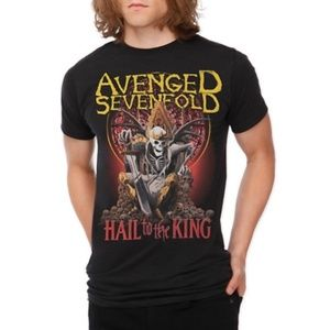 Avenged Sevenfold Hail to the King Tour Tee Small